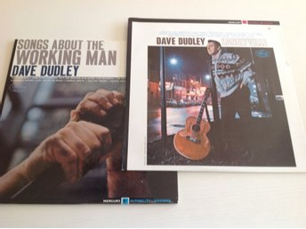 Rariteter! Signerad 2 st LP Dave Dudley Songs about the working man, Lonelyville