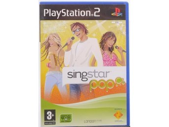 SingStar Pop - PS2 spel