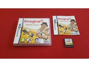 IMAGINE WILDLIFE KEEPER till Nintendo DS NDS