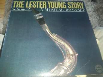 Lester Young-The Lester Young story, dubbel LP, US-press, EX/NM