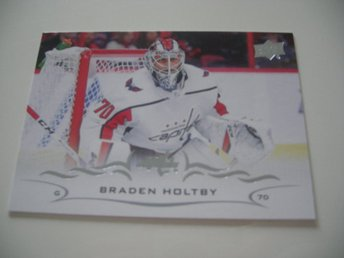 UD Series One 18/19 #187 Braden Holtby - Washington Capitals