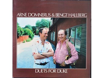 LP Arne Domnerus & Bengt Hallberg Duets for Duke