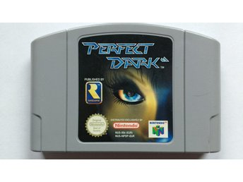Nintendo 64: Perfect Dark (endast kassett)