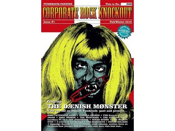 "Corporate Rock Knockout Magazine #1 (incl 7"") - NY"