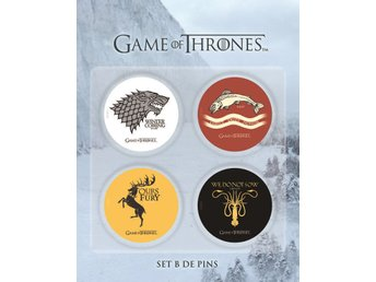 GAME OF THRONES BADGE PINS SET B