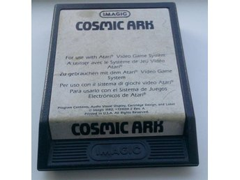 Cosmic Ark - Atari 2600 - Imagic