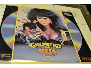 Girlfreind From Hell Laser Disc Rare