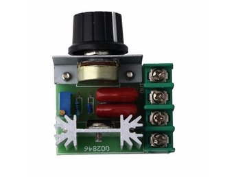 220V 2000W Speed Controller Regulator Dimmers Thermostat