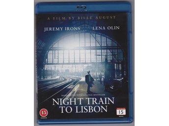 NIGHT TRAIN TO LISBON BLU-RAY DVD - Västra Frölunda - NIGHT TRAIN TO LISBON BLU-RAY DVD - Västra Frölunda