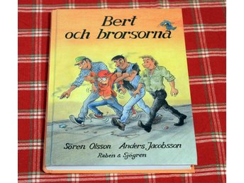 Bert och brorsorna - Sören Olsson & Anders Jacobsson - Borås - Bert och brorsorna - Sören Olsson & Anders Jacobsson - Borås