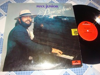 MAX JUNIOR - PIANO MAFIOSO LP 1974