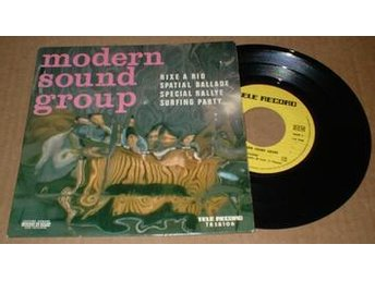 "MODERN SOUND GROUP RIXE A RIO 7"" Vinyl - älmhult - MODERN SOUND GROUP RIXE A RIO 7"" Vinyl - älmhult"