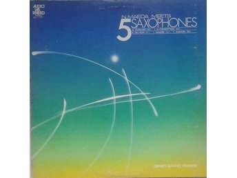 Norio Maeda title* N.Maeda Meets 5 Saxophones* Japan LP - Hägersten - Norio Maeda title* N.Maeda Meets 5 Saxophones* Japan LP - Hägersten