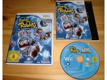 Wii: Rayman Raving Rabbids Travel in Time - Karlskoga - Wii: Rayman Raving Rabbids Travel in Time - Karlskoga