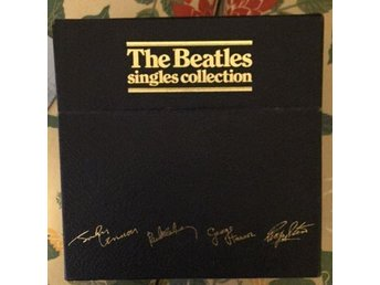 The Beatles. The Singles Collection Box inkl 26 singlar plus 1 Picture disc