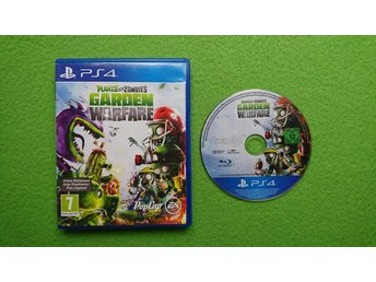 Plants Vs Zombies Playstation 4 PS4