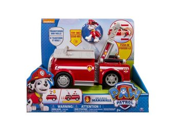 Paw Patrol Deluxe fordon Marshall