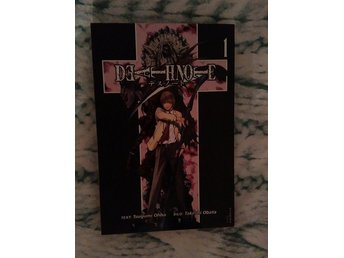 Death Note manga serier japan svensk drama thriller