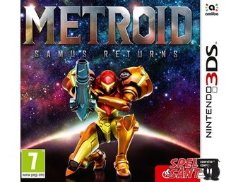 Metroid Samus Returns (Bergsala UK4)
