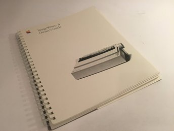 Datorbok Apple Imagewriter II (2) Owner's Guide - 1989 - 148 sidor