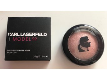 NYTT - Karl Lagerfeld+Model co Baked Blush Rose Beige 3,5g
