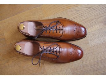 Allen Edmonds CORNWALLIS Oxfordskor Walnut stl 9