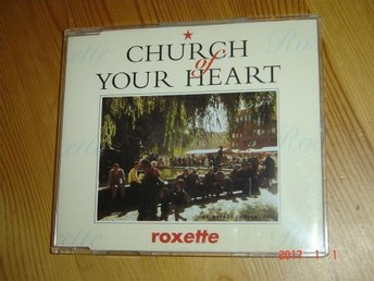 Roxette - Church of your heart MAXI SINGEL RARE!!