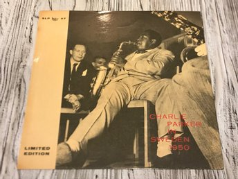 Charlie Parker in Sweden 1950 - Limited edition nr: 466 av 1000 (SLP 27)