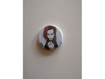 Marilyn Manson - pin badge button