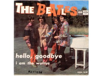 "BEATLES - Hello, Goodbye  7"" Singel  Spanien"