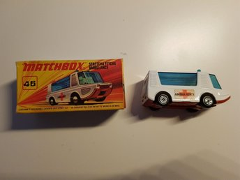 Matchbox Ambulance samlarobjekt
