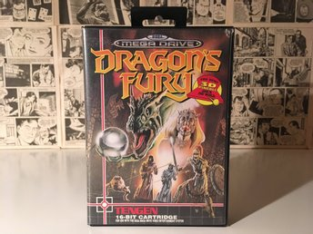 Dragon's Fury (Sega Mega Drive SMD) Dragons Fury pinball