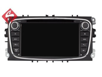 "Ford Focus Galaxy S Max C Max Kuga Bilstereo Bluetooth android 7.1, 7"" touch NY"