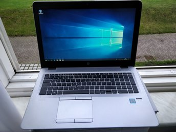 "HP EliteBook 850 G4 -15.6"" Core i5 7300U/2.6 GHz/8GB DDR4/256GB SSD/FHD+Garanti"