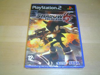 Shadow the Hedgehog Sony Playstation 2 PS2 PAL *NYTT*