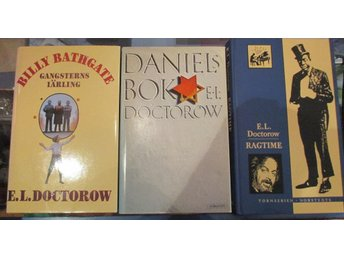 3 böcker av E. L. Doctorow