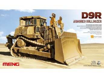 Meng Model 1/35 D9R Armored Bulldozer
