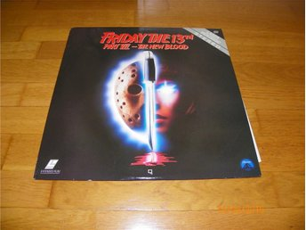 Friday the 13TH - Part VII The new blood - 1st laserdisc