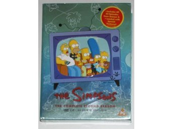 The Simpsons - Säsong 2 - DVD
