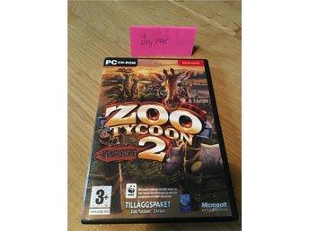 Zoo tycoon 2- afrikaäventyret pc-spel - Svalöv - Zoo tycoon 2- afrikaäventyret pc-spel - Svalöv