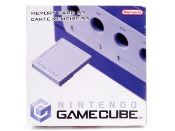 Gamecube Memory Card (59) -  - PAL (EU)