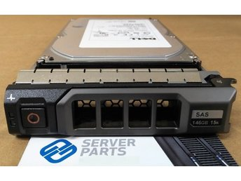 "Dell 146GB 15K SAS 3.5""  P/N GX198"