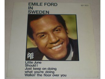 Emile Ford OMSLAG EP In Sweden 1964