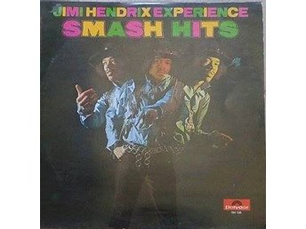 Jimi Hendrix Experience title* Smash Hits* Rock, Psych Rock LP Comp. Scandinavia