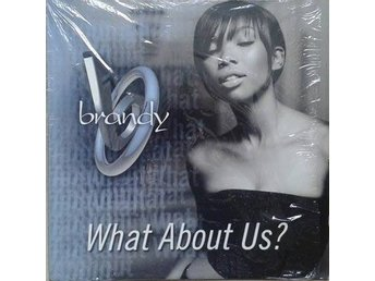 "Brandy title* What About Us?*RnB,Hip-Hop 12"" US"