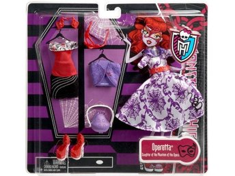 Operetta - Deluxe Fashion Pack - Monster High docka - 2011