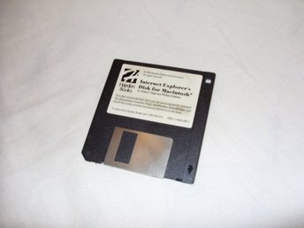 Internet Explorers Disk for Macintosh Hayden Books 1994 Vintage programvara