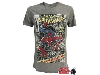 Marvel Amazing Spider-Man T-Shirt Grå (Medium)