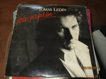 TOMAS LEDIN - LOOKIN FOR A GOOD TIME - LP