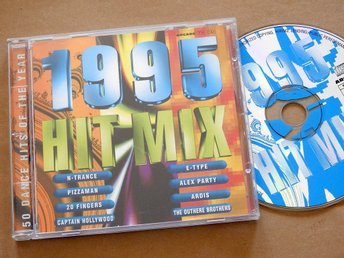 1995 Hit Mix CD N-Trance,Pizzaman,20 Fingers,E-Type,Alex Party,Ice Mc,Corona